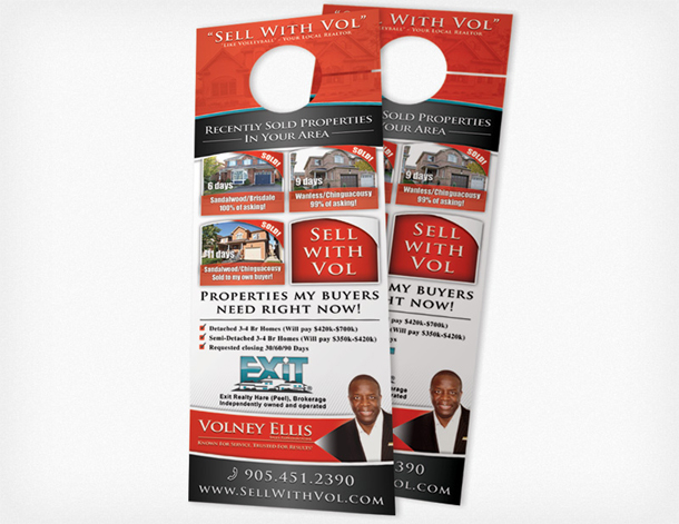 Door Hanger Printing Toronto   Full Colour Printed For Just