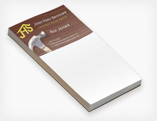 Custom note paper printing toronto